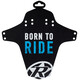 Reverse Born to Ride Schutzblech hell blau
